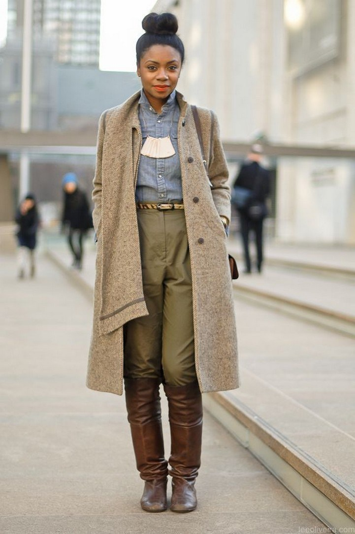 41+ combination for boots and coats this winter 22