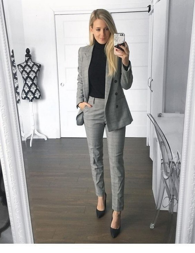 60+ the best work winter outfits ideas that make you more cool in this year 26