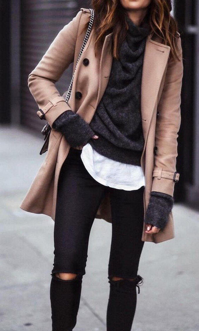 31+ trendy winter outfit ideas that women have to know 15