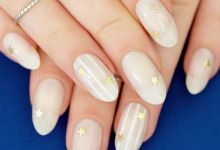 15 Stars Nail, Why not for Your Winter Girls' Night?
