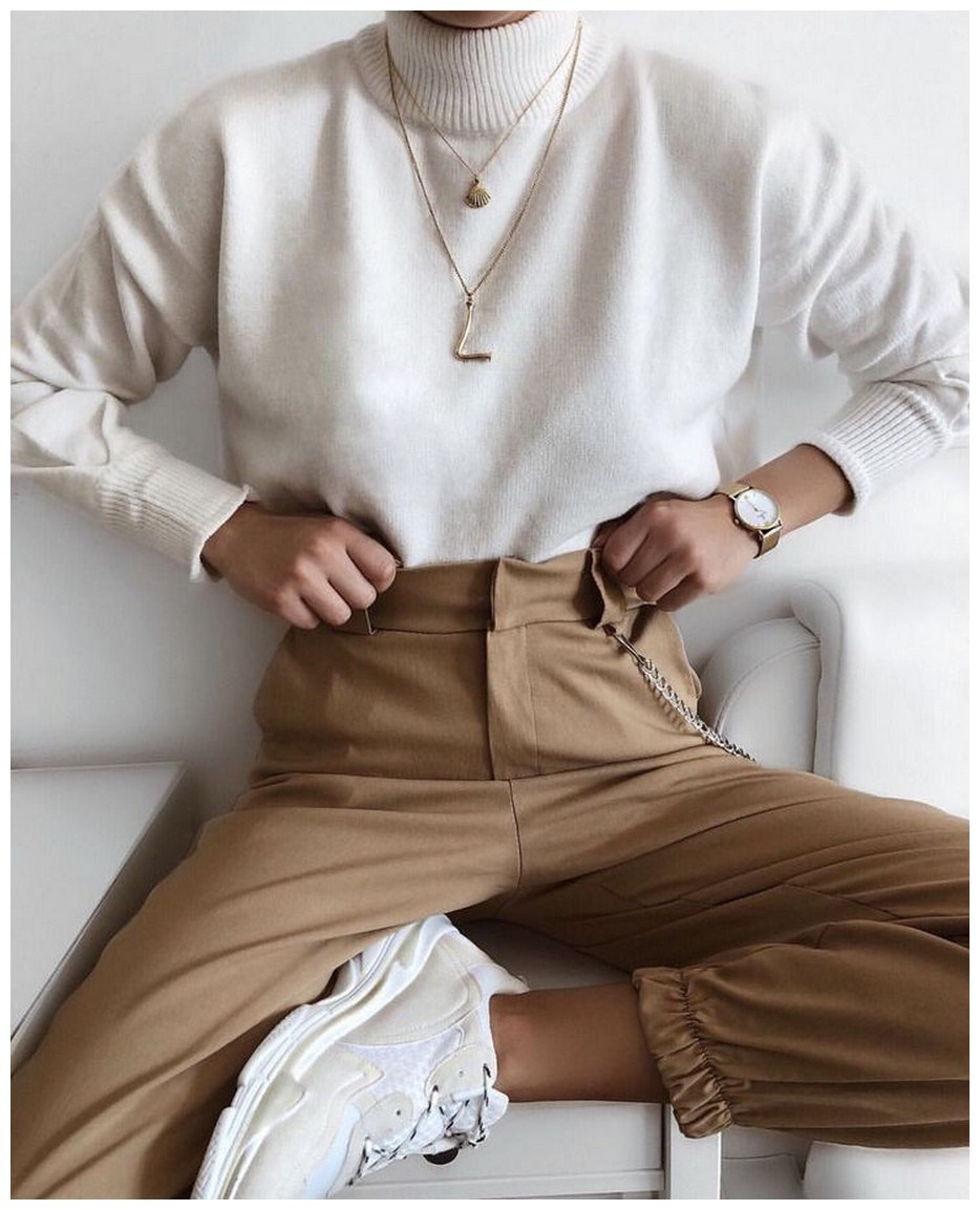 60+ minimalistic outfits for spring 34