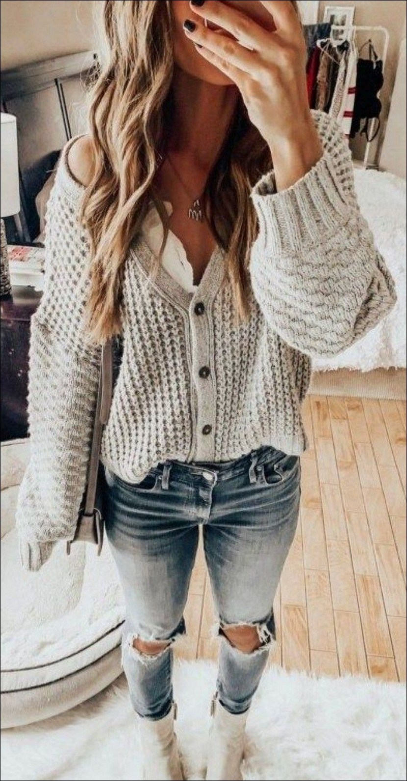 35+ stylish comfy casual spring outfits for women 15
