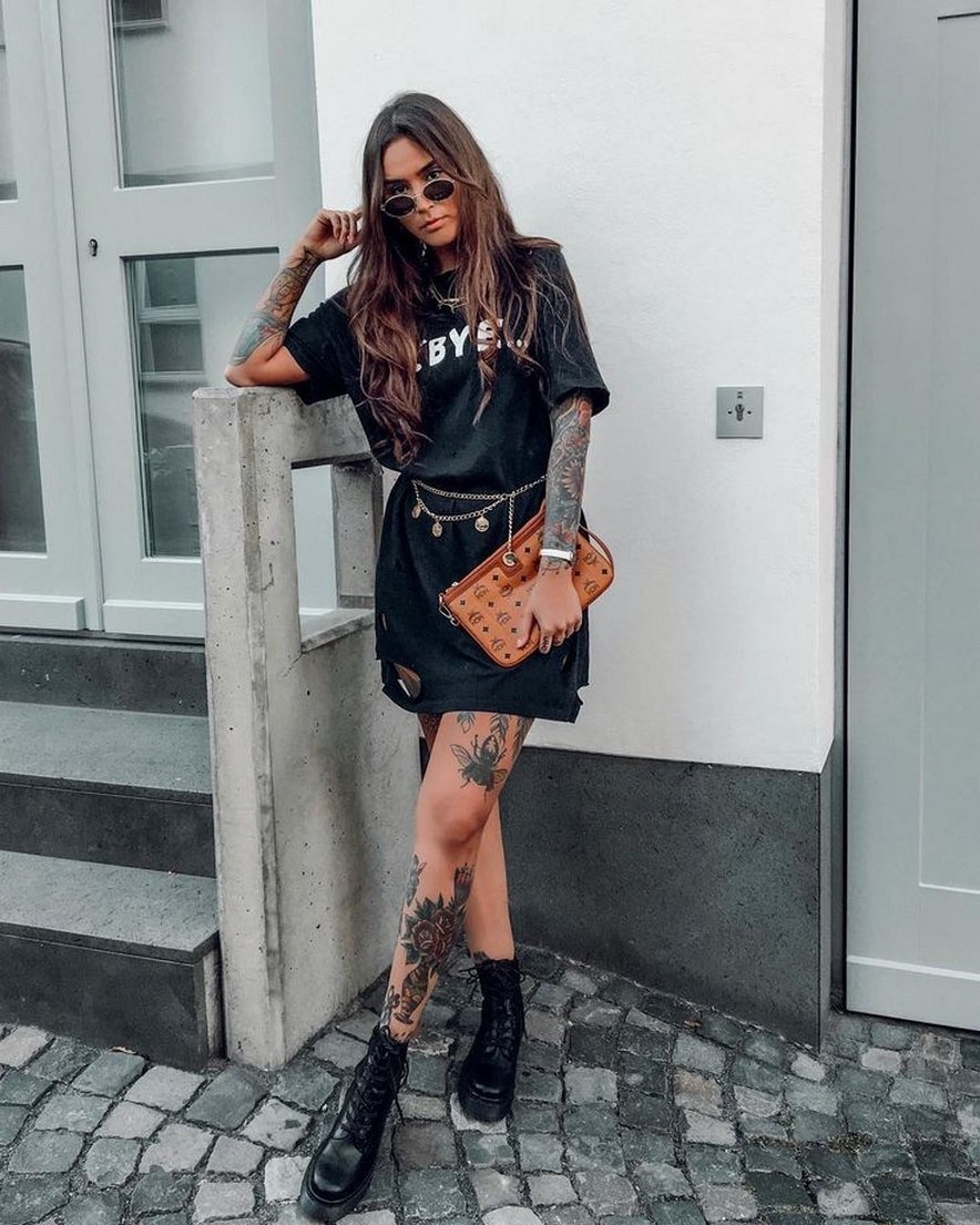41+ ways to wear chic grunge outfits in spring 45