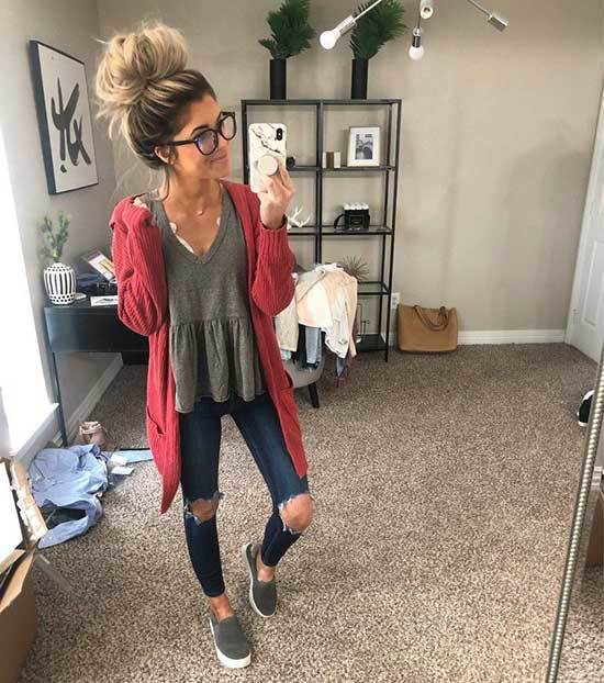 Cozy Spring Outfits