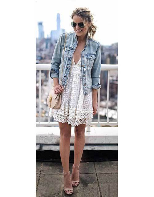 Spring Denim Outfit İdeas