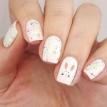42+ Modern Easter Nail Art Design Ideas