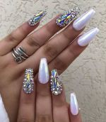 24 Stunning Coffin Nail Designs of the Year