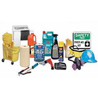 MRO cleaning and safety supplies