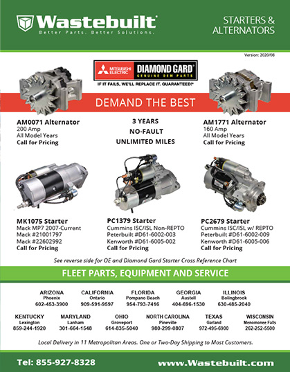 Mitsubishi Starters and Alternators