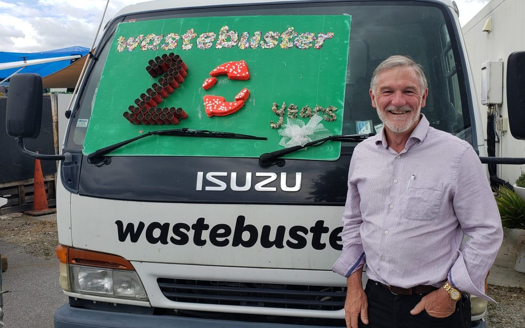 New GM for Wastebusters 20th Birthday