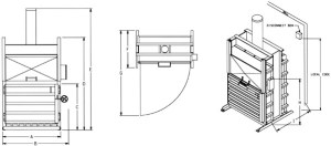 Specs & Details for High Density Baler  60