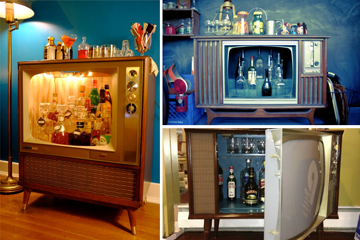 8 DIY Inspirations From Old TV To A Bar