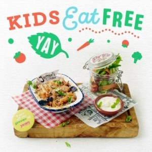 Kids Eat Free at Jamie's Italian
