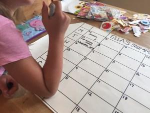 Summer Holidays Planner