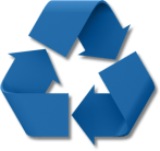Shrink your garbage by recycling!