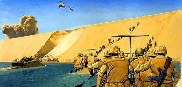 رسومات عن حرب أكتوبر 1973 بالصور الملونة الوطنية للإعلام
