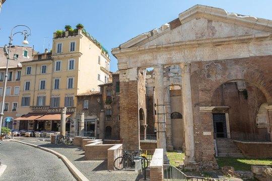 Da Gigetto, bij de Portico d'ottavio