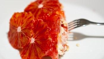 wat aten zij - trifle van bloedsinaasappel