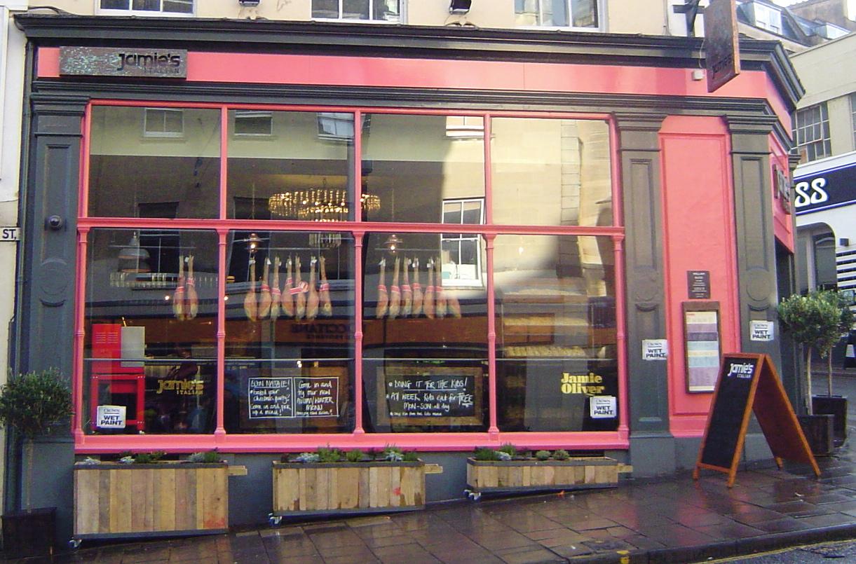 Jamie's Italian in Bristol