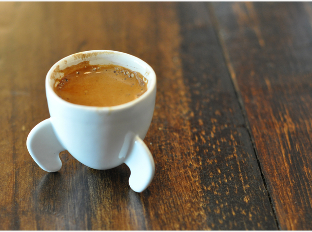 Rocket espresso cup van Shapeways