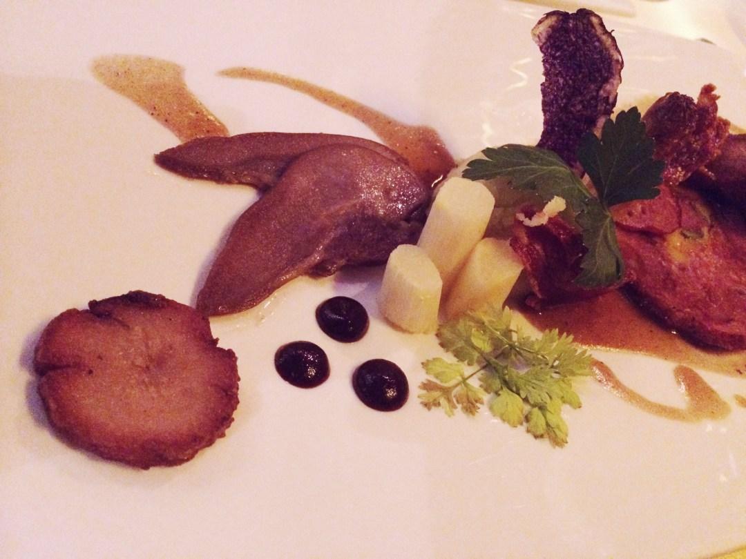Restaurant De Gulle Waard - geit in verschillende bereidingen