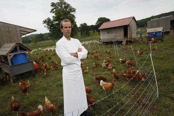 Chef's Table: Dan Barber tussen zijn kippen