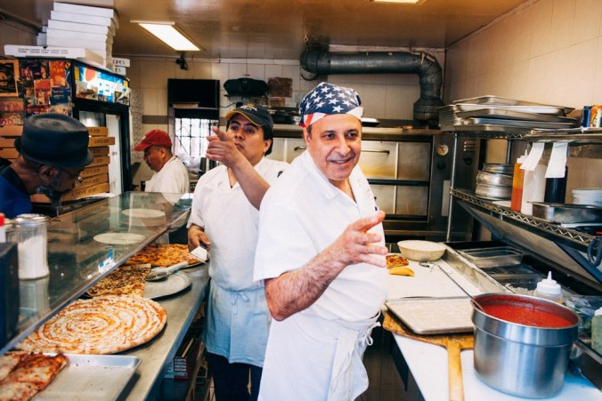 The New York Pizza Project: the makers