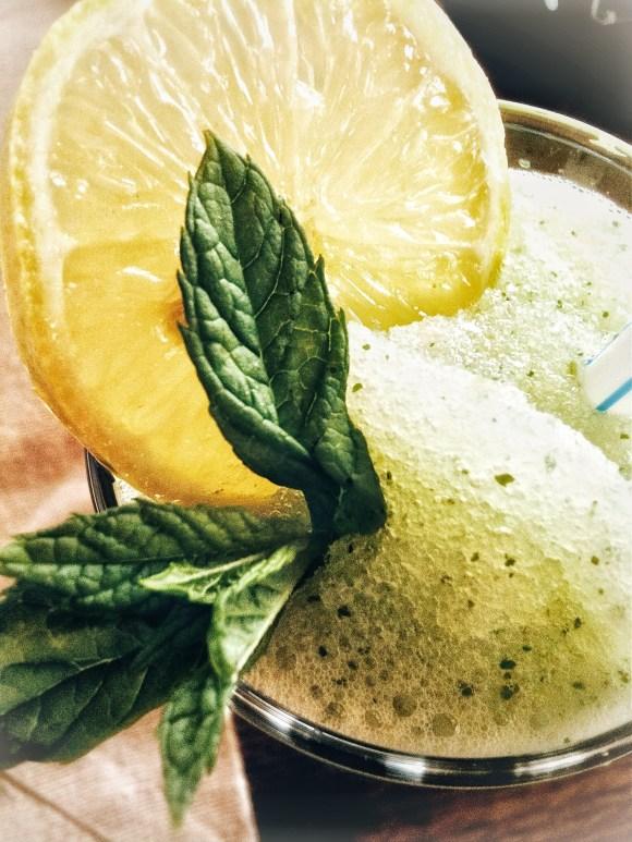 Extra frisse citroen munt limonade