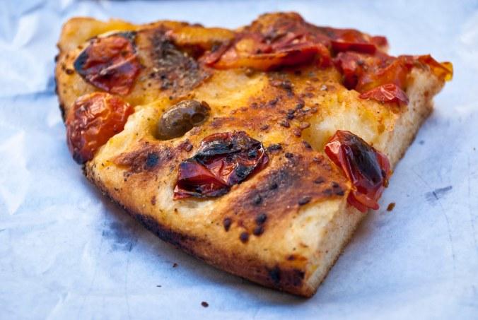 Focaccia uit middeleeuwse ovens