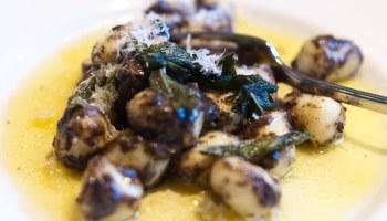 Gnocchi, boter, salie en truffel