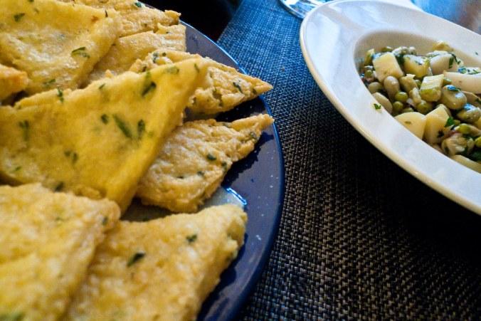 Panelle e fritella Palermitana