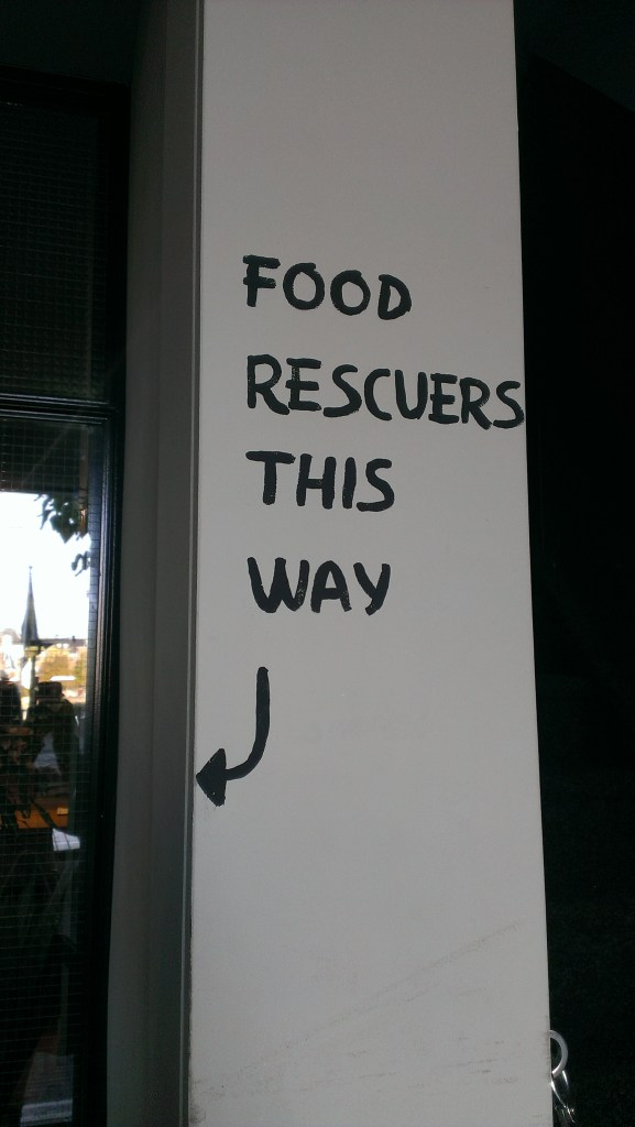 Instock - food rescuers this way