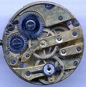 A Schild AS 175 watch movement