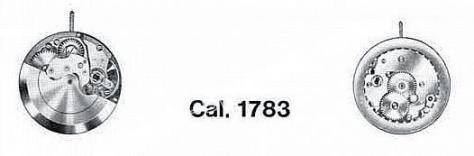 A Schild AS 1783 watch movement