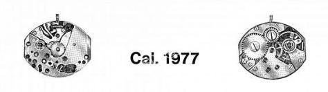 A Schild AS 1977 watch movement