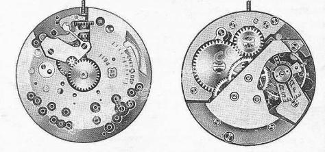 AS 1194 watch movement