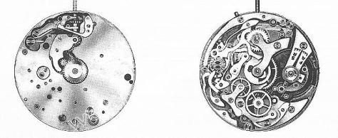 Valjoux 23 watch movements