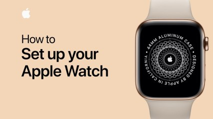 How to pair and set up your Apple Watch
