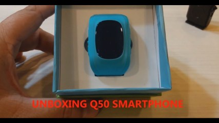 Unboxing & Using the Q50 Smart Watch GPS Tracker for Kids