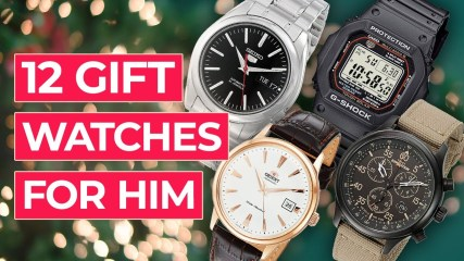 12 Gift Watches For Him (from $50 to $500) Best Men's Watches for Christmas