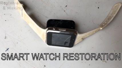 Restoration of flooded smart watch | Restore broken smartwatch screen