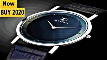 Top 7 Best New Titan Watches for Men Buy 2020