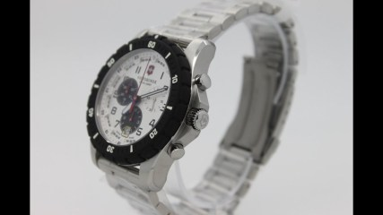 Victorinox Watches - 3 Great Analog Display Swiss Quartz Silver Mens Watches