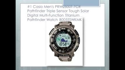 Top 10 Casio Pathfinder Men's Watches - Best Outdoor Watches