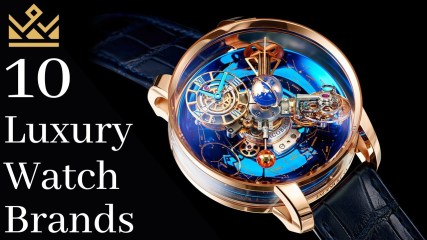 Luxury Watches: Top 10 Most Expensive Luxury Watch Brands