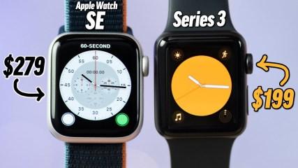 Apple Watch SE vs Series 3 - Best Value  Watch in 2020?