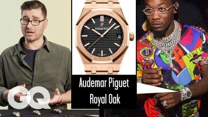 Watch Expert Critiques Celebrities' Watches (Quavo, Kanye, Rami Malek)   Fine Points   GQ