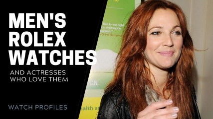 Mens Rolex Watches on Hollywood Actresses | SwissWatchExpo