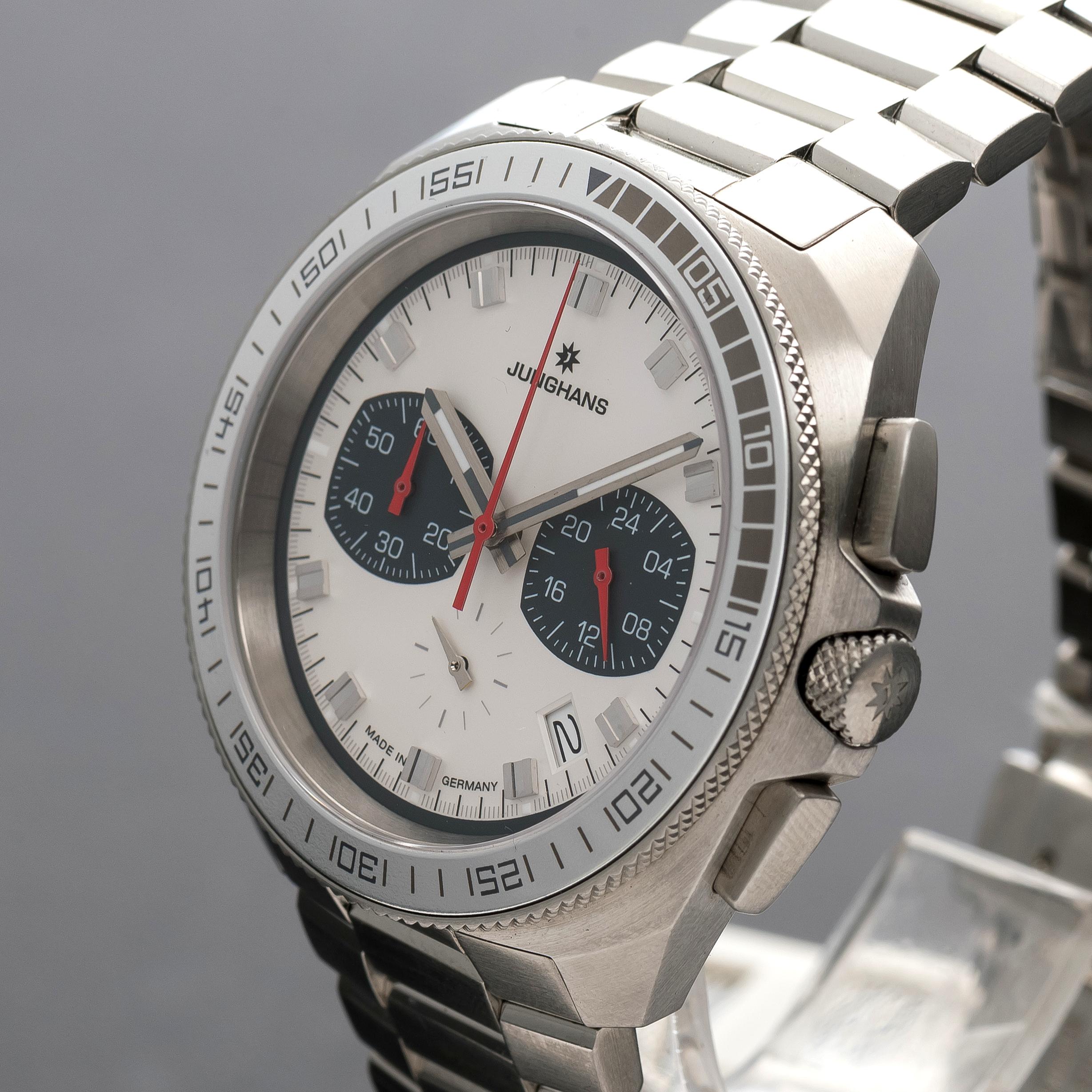 Junghans 1972 Chronoscope Quartz Chronometer watch 041/4262.44