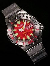 Seiko Red Monster